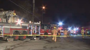 An Ahuntsic store suffered $50,000 worth of damages after a fire broke out Wednesday night.