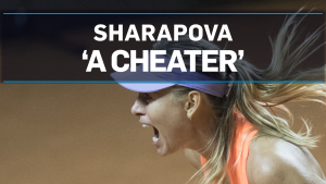 Bouchard says Sharapova should be banned for life
