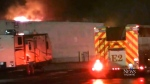 CTV Atlantic: Crews battle fire at Moncton RV deal