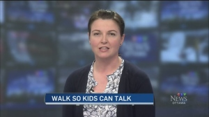CTV Ottawa: Walk so Kids Can Talk
