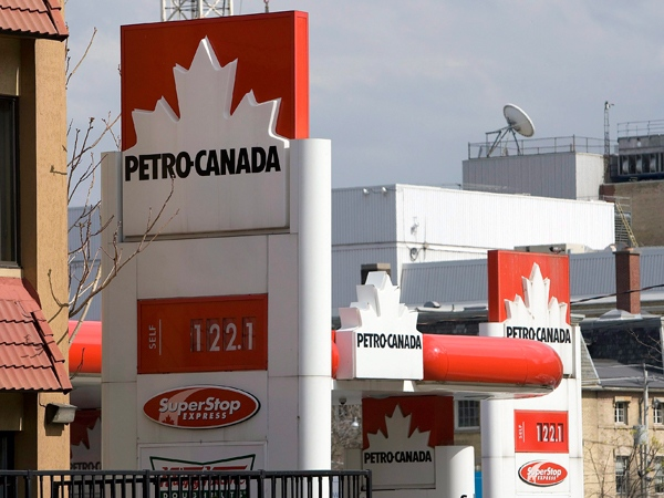 A Petro-Canada gas station is seen in Toronto on April 29, 2008. (Frank Gunn / THE CANADIAN PRESS)