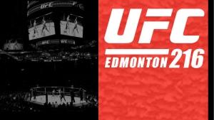 UFC 216 Rogers Place