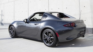 Mazda MX-5 Miata RF. (Courtesy of Mazda Motor Corporation via AP)