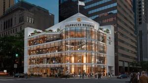 Artist's rendering of the Starbucks Roastery store in Chicago (Starbucks)