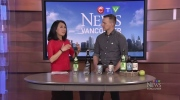 Taste testing drinks from the B.C. Cider Festival