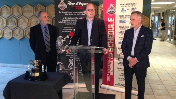 Memorial Cup to make rounds of Windsor