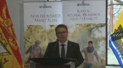 "The ""New Brunswick Family Plan"" focuses on improving access to primary and acute care, and a new approach to family medicine."