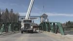 Master's cabin installed on swing bridge