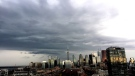 Clouds roll in over Toronto on the evening of April 27, 2017. (Ian Caldwell)