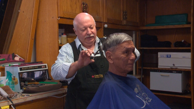 North Battleford Sask Barber Wants To Pass On Business