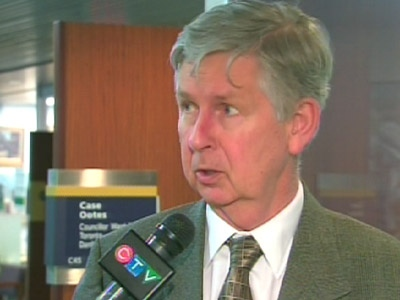 Coun. Case Ootes said if one doesn't agree with the Toronto Environmental Alliance, 'you get an F.'