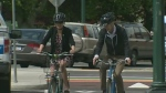 Victoria's first protected bike lane opens Monday
