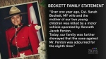 Family of Const. Sarah Beckett speaks out