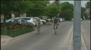 Police are reminding cyclists and drivers to use caution.