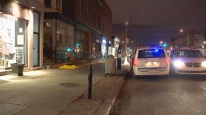 Police are investigating a possible arson attempt at the Del Nova pizzeria in Westmount on Friday morning.