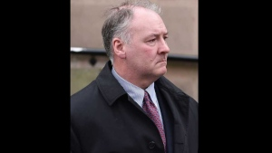 In this Tuesday Feb. 21, 2017 file photo, former breast surgeon Ian Paterson arrives at Nottingham Crown Court in Nottingham, England. (Joe Giddens/PA via AP, file)