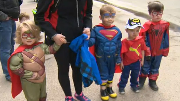 Cosplay Clad Calgarians Lead Parade Of Wonders Through