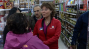 Christy Clark was in a North Vancouver grocery store when a woman told the premier she would not vote for her in the upcoming election.