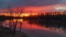 Breathtaking sunset in Headingley. Photo by Marvin Janzen.