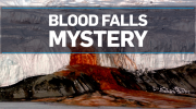 Scientists crack mystery of blood-red waterfall
