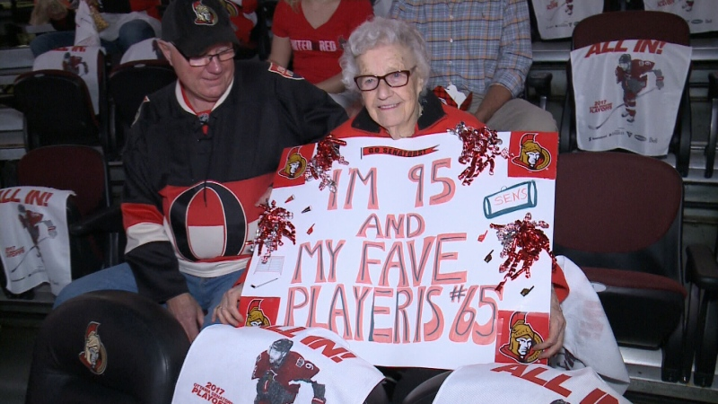 CTV Ottawa: 95-year-old Senators fan