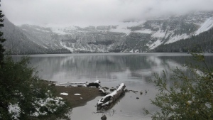 Cameron Lake in Waterton Lakes National Park in this Sept. 19, 2010 photo. THE CANADIAN PRESS/Bill Graveland