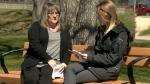 Linda Krzyk and Laura Germain in Winnipeg