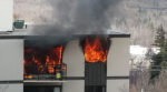 Fire wrecks Strathcona apartment suite