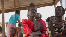 Women and children in Somalia