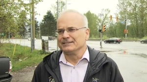Coquitlam Mayor Richard Stewart speaks to CTV Vancouver's Ben Miljure.