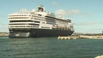 CTV Atlantic: Cruise ship arrives in Sydney