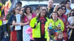Show of love for slain young woman