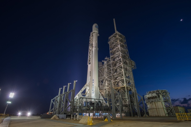 SpaceX launches top-secret spy satellite for USA military