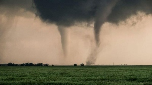 Twisters and deadly tornadoes filled the sky over east Texas over the weekend.