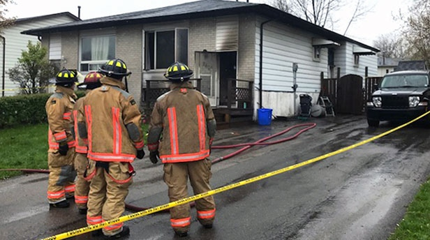 Toddler dies in Hamilton house fire
