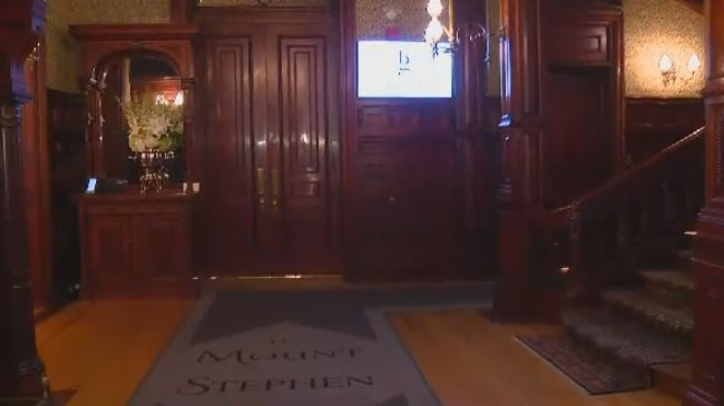 The historic Mount Stephen Club, which closed in 2011, will reopen as a luxury hotel on Monday night.