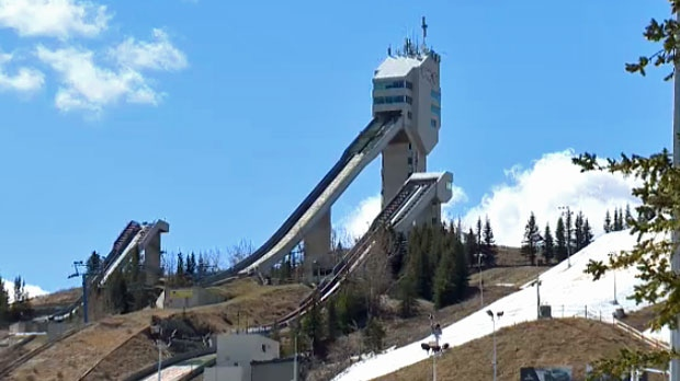 The ski jump facility is one venue that would need to be rebuilt if Calgary were to host the 2026 Olympics