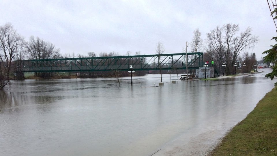 Flooding in Maniwaki