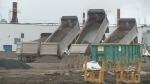 Gordie Howe bridge construction