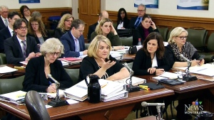 Annick Murphy, centre, is the chief Crown Prosecutor in Quebec