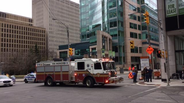 Massive Gas Leak in downtown Ottawa