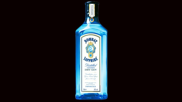 Bombay Sapphire gin - with 77% alcohol - recalled in five provinces