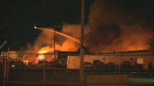 GM plant fire