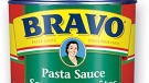 A can of Bravo Pasta Sauce is seen in this undated file photo.
