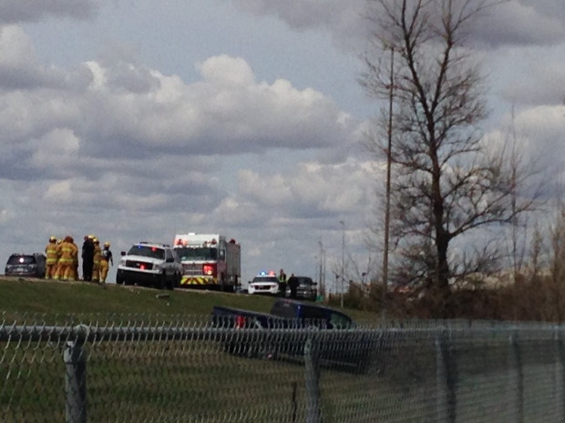 School bus crash on Ring Road