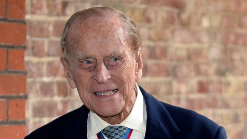 Prince Philip, the Duke of Edinburgh arrives at Chapel Royal in St James's Palace, London, for an Order of Merit service, Thursday May 4, 2017. (John Stillwell/Pool Photo via AP)