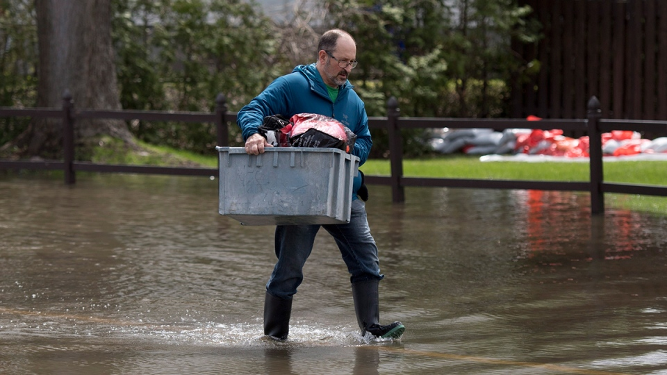 Flooding in Gatineau