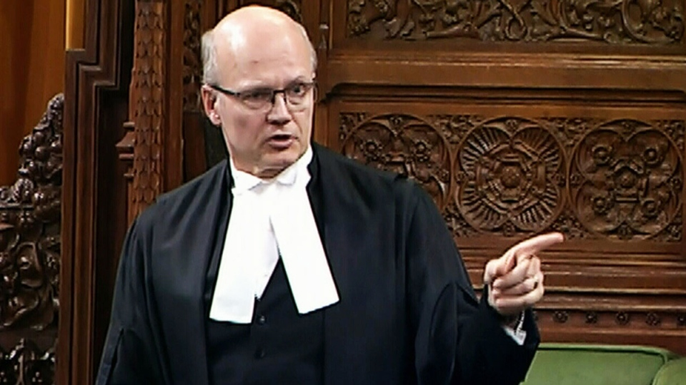 House Speaker Geoff Regan kicked Conservative MP Blake Richards out of the Commons for heckling Thursday.