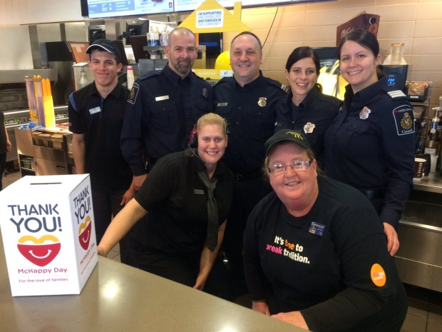 McHappy Day raises approximately $10000 for Ronald McDonald House