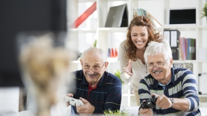 Video games which encourage getting active can help boost brain health as you age. (vm/Istock.com)